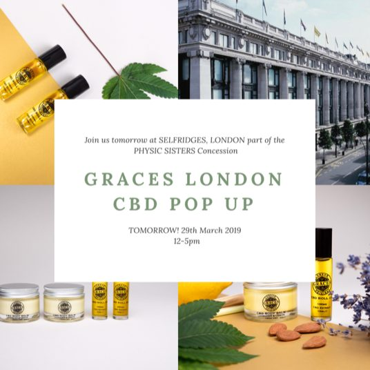 Graces London Selfridges Pop-up