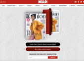 Hello Fashion Monthly magazine subscription with Graces London
