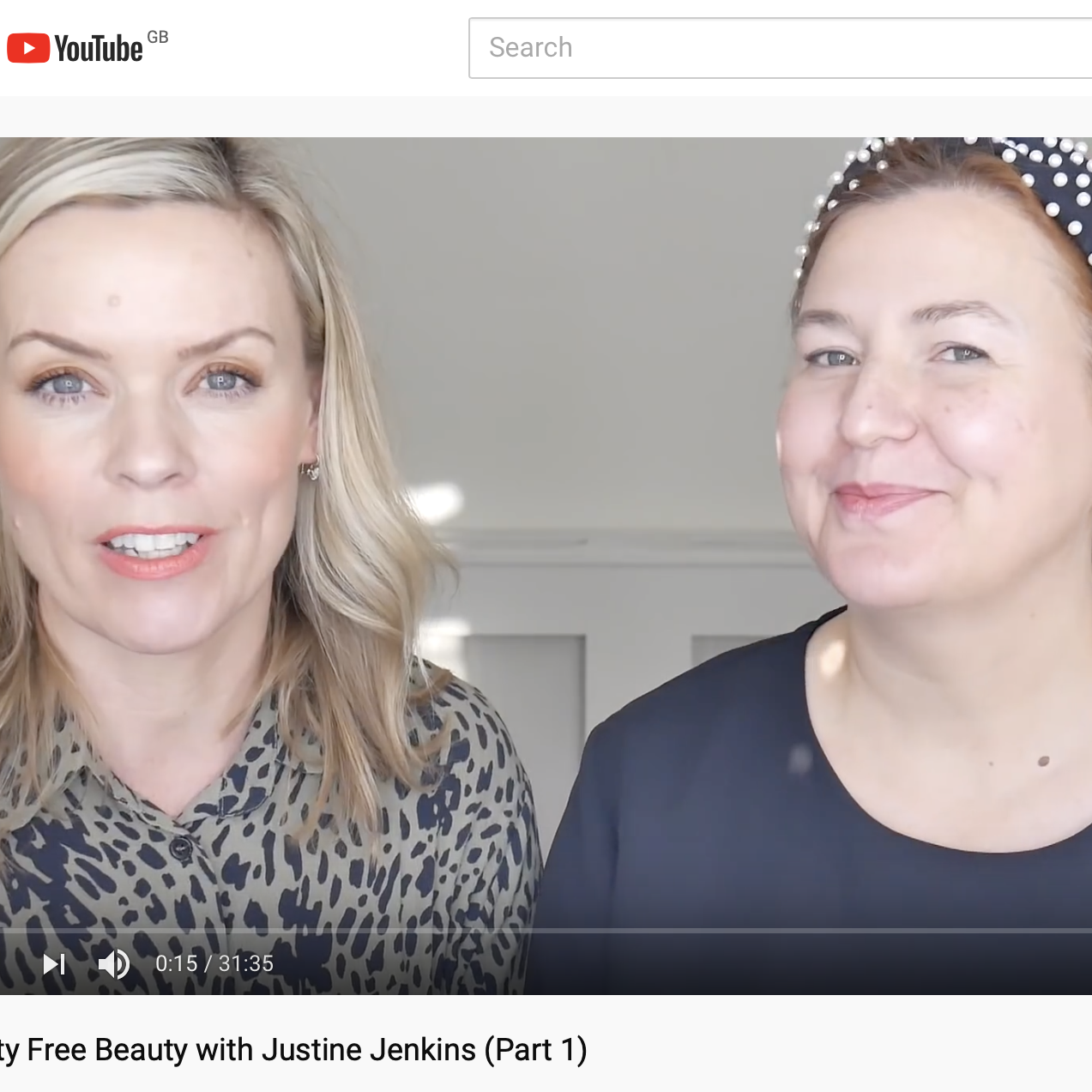 Speed Beauty & Caroline Barnes: Cruelty Free Beauty with Justine Jenkins (Part 1)